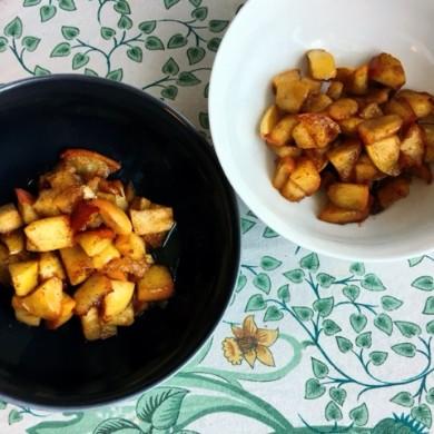 Southern fried apples AIP paleo glutenfri